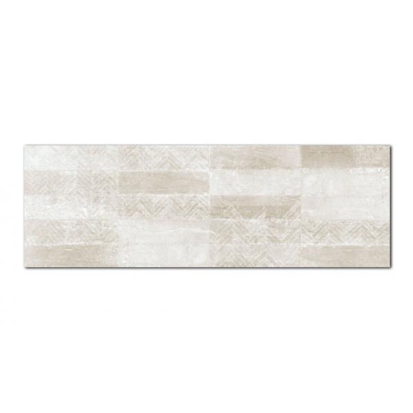 Revestimiento GROUND decorado Guess Terra 30x90cm pasta blanca Keramik Style