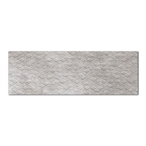 Revestimiento CREATIVE RHOMB Piedra 30x90cm pasta blanca Keramik Style