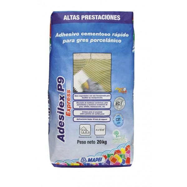 Adhesvio cementoso rápido ADESILEX P9 EXPRESS C2FT 20Kg