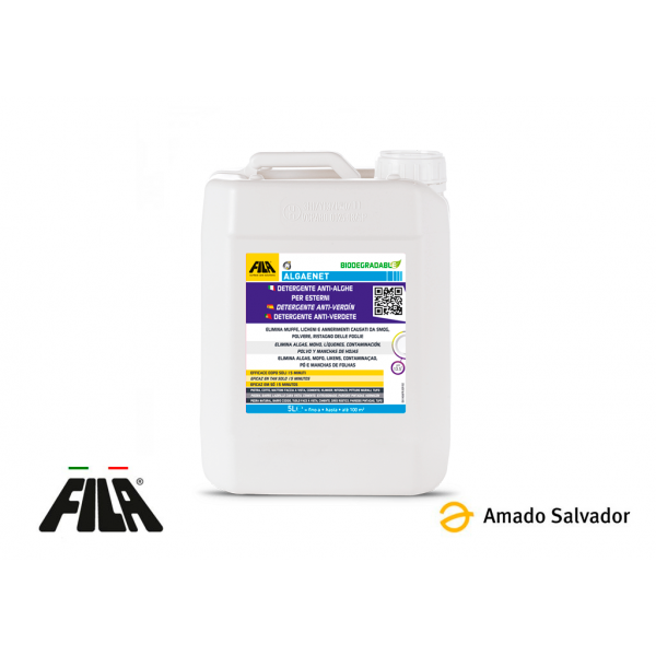 ALGACID Detergente anti-verdin exteriores 5L