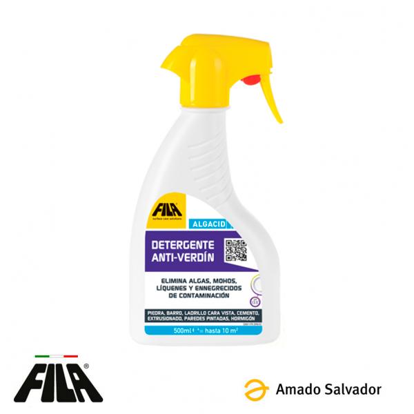 ALGACID Detergente anti-verdin exteriores 500ML