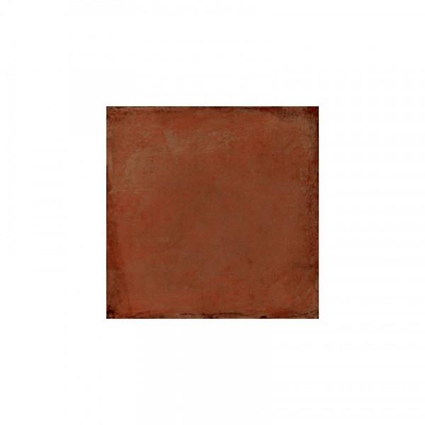 Pavimento ALHAMAR Rojo C3 16,25x16,25cm gres extrusionado pasta blanca EXAGRES