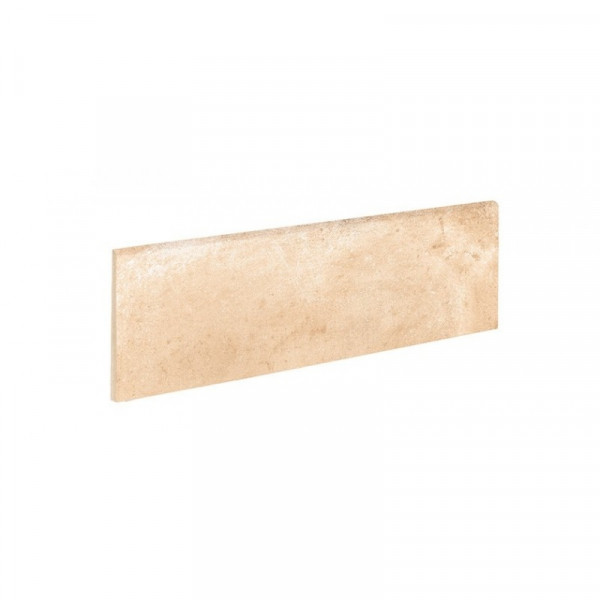 Rodapie ALHAMAR Paja 9x33cm gres extrusionado pasta blanca EXAGRES