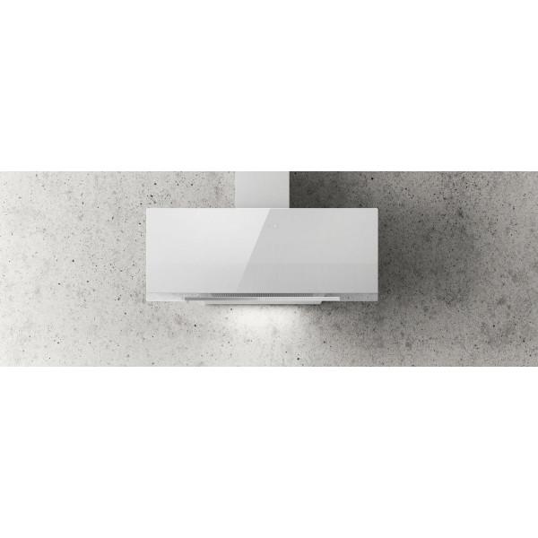 Campana extractora a pared APLOMB blanca de 90cm Elica