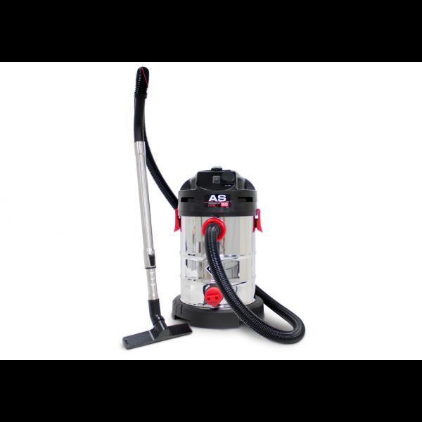 Aspirador AS-30 Pro para trabajos en seco/húmedo adaptable a máquinas eléctricas
