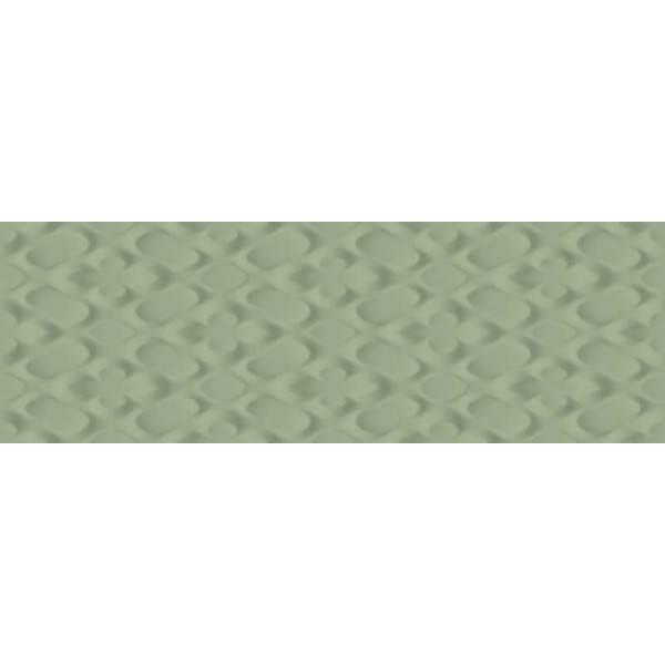 Pavimento SPRINGPAPER 3D-01 GREEN 25X75 pasta blanca rectificado Sant Agostino