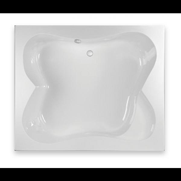 Bañera acrílica encastrable Share 190x160cm