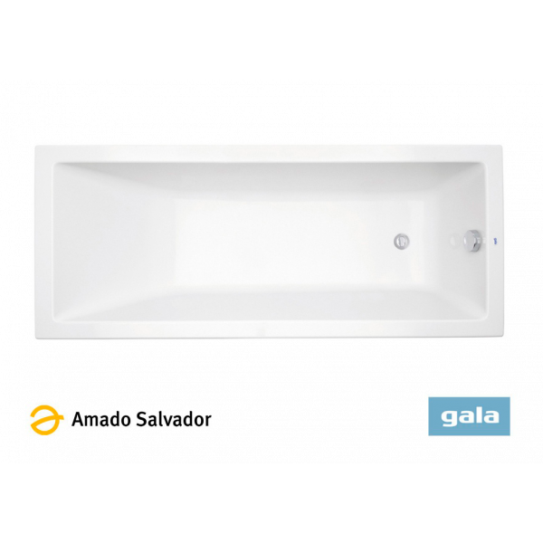 Bañera acrílica MITTA color blanco de Gala