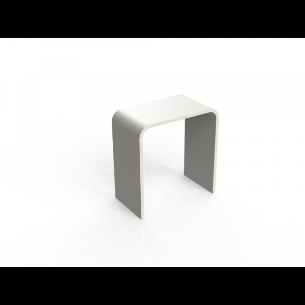Asiento de ducha solid surface 38x38x21cm