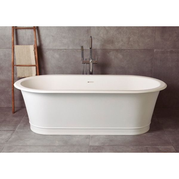 Bañera exenta solid surface CLASSIC 180X88 cm blanco mate sanycces