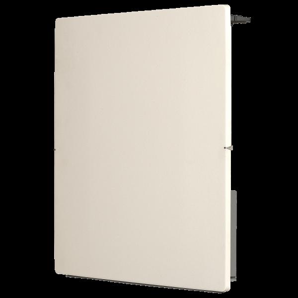 Radiador eléctrico de diseño Avant Touch cuadrado 800w blanco silicio 500x500x105mm