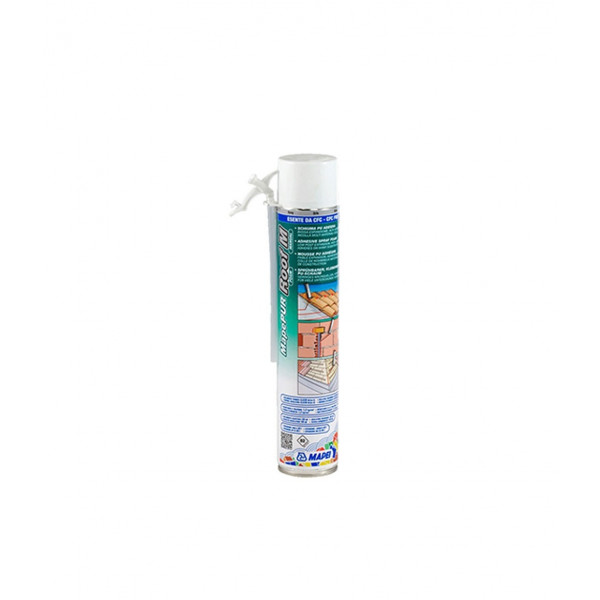 MAPEPUR ROOF FOAM M espuma de poliuretano anclaje manual (tejados) 750ML