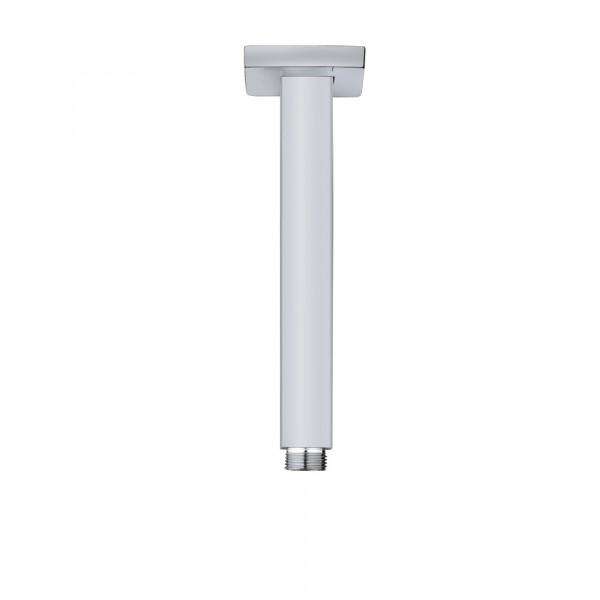 Brazo de ducha vertical cuadrado FORMENTERA V de 20 cm TEKA