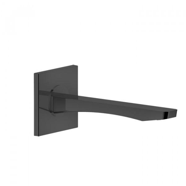 Caño de Lavabo 23 cm NEGRO XL RILIEVO Gessi Rubinetteria 59100/031