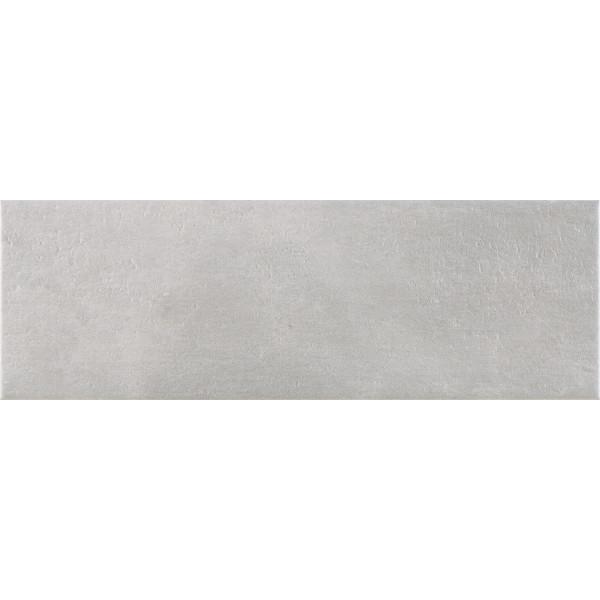 Revestimiento CAEN Gris mate 20x60cm pasta blanca