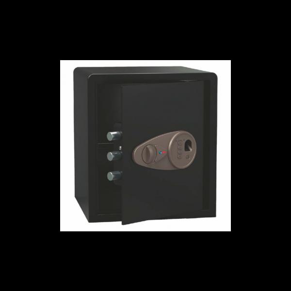 Caja fuerte sobreponer modelo TECNA 410 con cerradura biometrica ( huella dactilar ) BTV