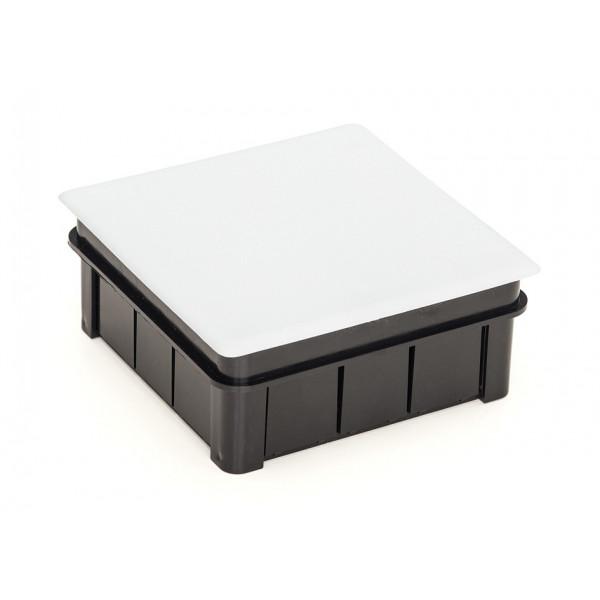Caja de luz para empotrar con tapa 100x100mm