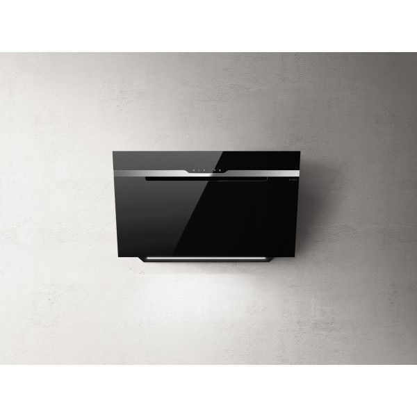Campana extractora a pared MAJESTIC no drip BL/A/90 cm negra Elica