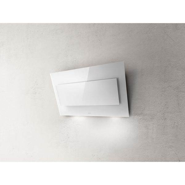 Campana extractora a pared VERTIGO WH/F/90 cm blanca Elica