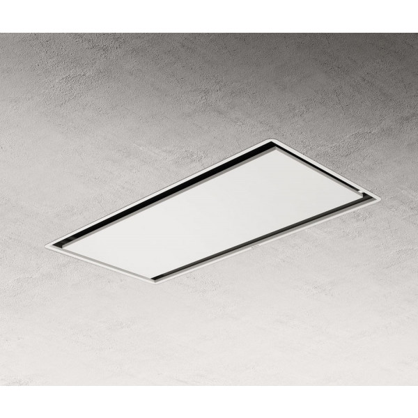 Campana extractora encastrable a techo Illusion H16 WH/A/100 cm blanco led Elica