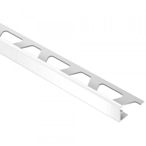 JOLLY-AC Cantonera de aluminio lacado blanco brillo altura 10 mm A100BW