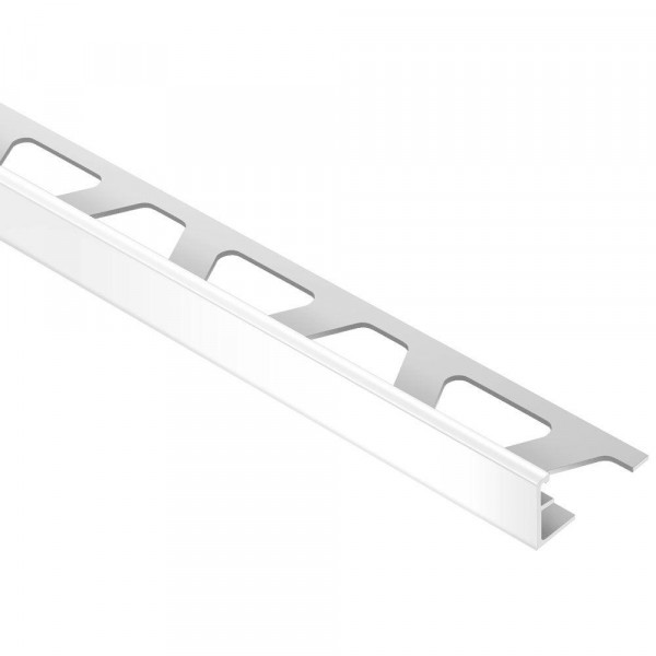 JOLLY-AC Cantonera de aluminio lacado blanco brillo altura 8 mm A80BW