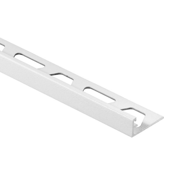JOLLY-AC Cantonera de aluminio lacado blanco mate altura 12,5 mm A125MBW