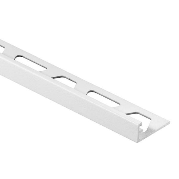 JOLLY-AC Cantonera de aluminio lacado blanco mate altura 8 mm A80MBW
