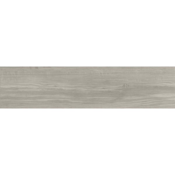 Pavimento Carelia Gris 22.5x90cm madera porcelánica