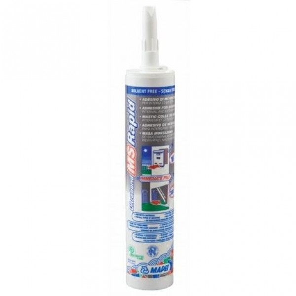 Adhesivo ULTRABOND MS RAPID blanco MAPEI