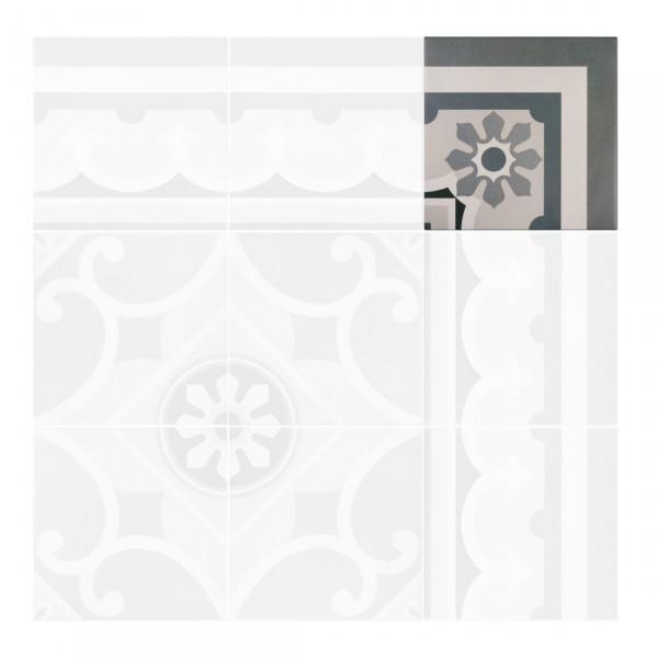 Pavimento CAPRICE CHATELET CORNER 20x20cm Equipe Cerámicas