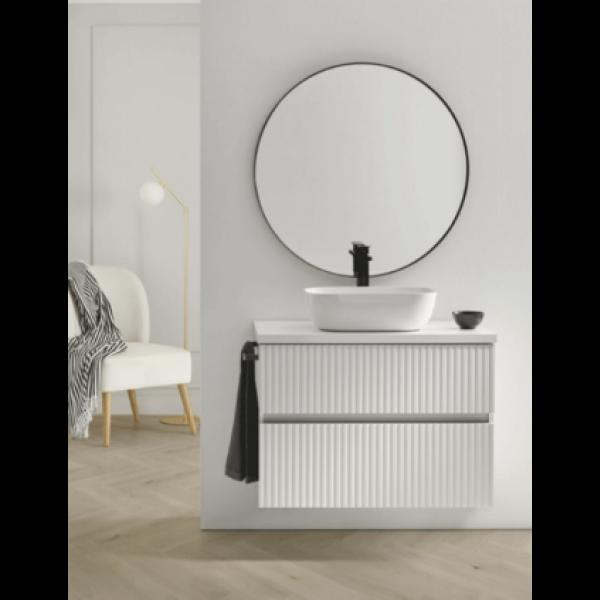 Mueble de baño suspendido REBLOCK en varios acabados