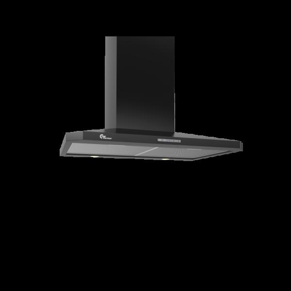 Campana extractora a pared DECOR 787 Negro 70 cm thermex