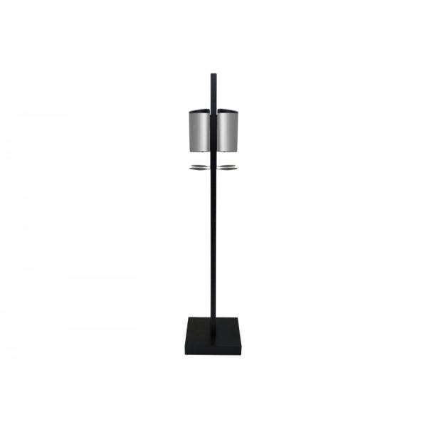 Soporte suelo Premium Doble con dispensador automatico de gel hidroalcoholico