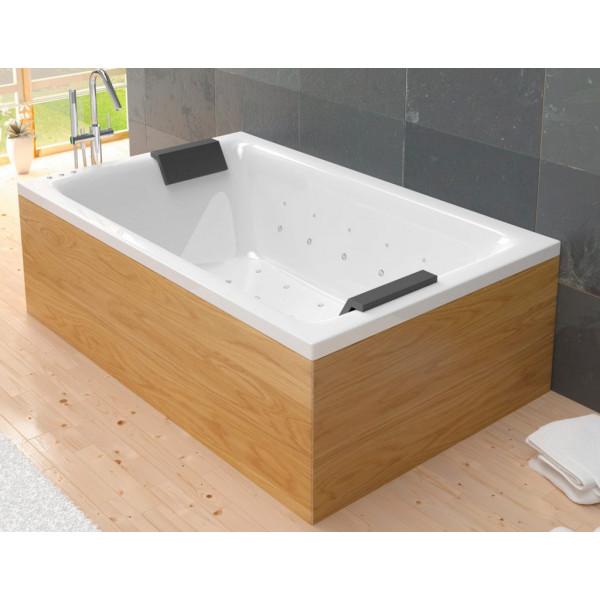 Bañera acrílica Duo DS Confort 190x120 cm con hidromasaje Confort