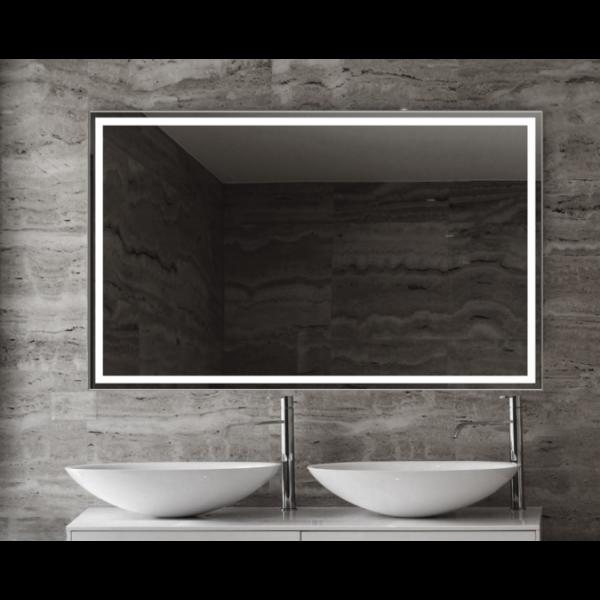 Espejo de baño Emanuele 80x80cm con iluminación by Marzzo