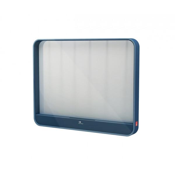 Espejo horizontal Azul con soporte smartphone MOOD B&K