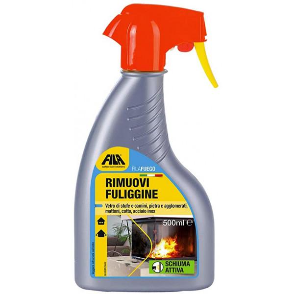 FUEGO detergente elimina hollín 500ML FILA