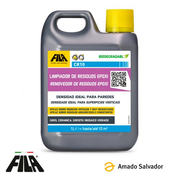 CR10 limpiador de residuos epoxídicos y resinosos 1L FILA