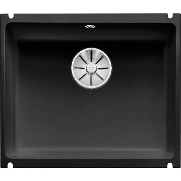 Fregadero bajo encimera negro subline 500-U 530x460 cm Blanco Germany