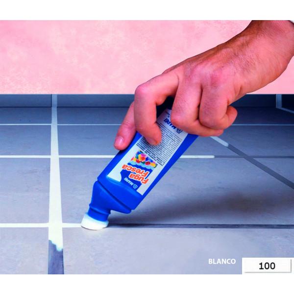 FUGA FRESCA Bianco 100 reparación color juntas de baldosas 160gr
