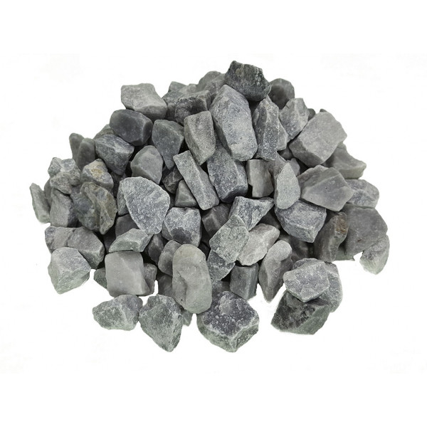 Grava decorativa gris nevada 12-18mm (Saco 20 kg)