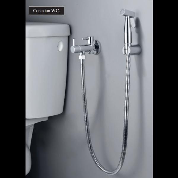 Grifería monomando empotrada wc de bidé NESS cromo RDM005