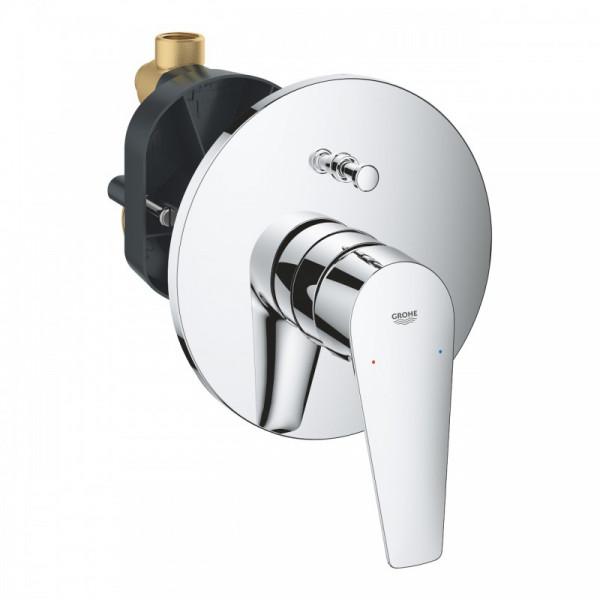 Bauedge mezclador monomando empotrado baño - ducha cromo Grohe