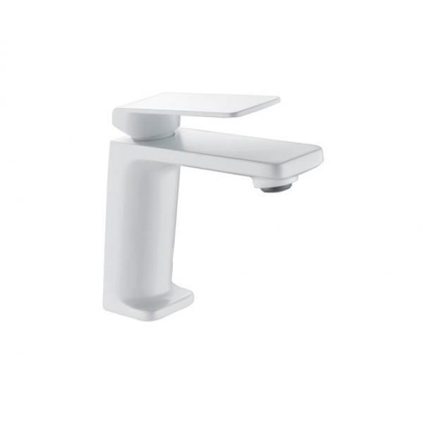 Grifería de lavabo FIYI blanco mate BDF016-1BL
