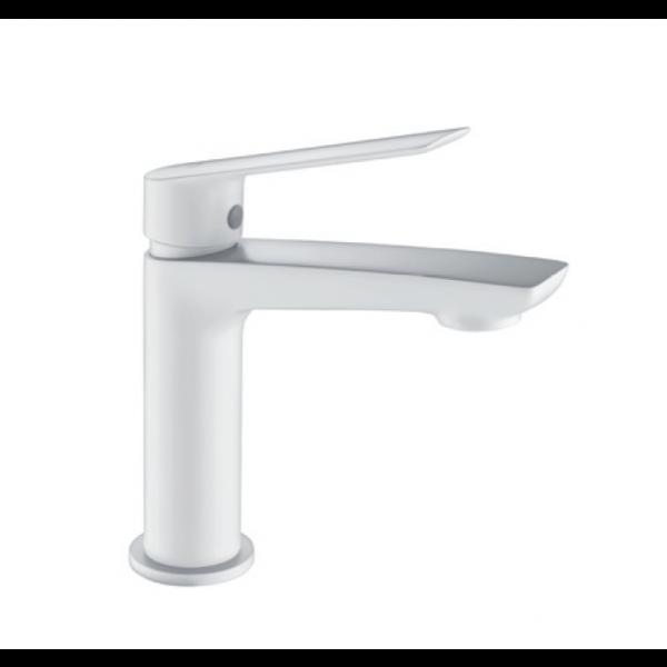 Grifería de lavabo LUXOR blanco mate BDX023-1BL