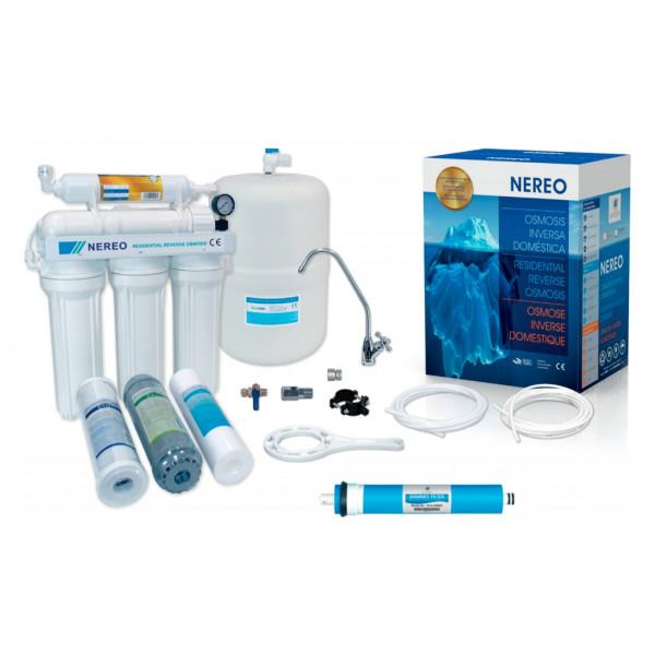 Equipo de osmosis inversa 5 etapas Nereo