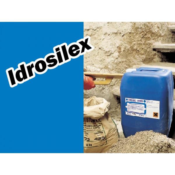 IDROSILEX hidrofugante líquido para morteros cementosos formato 1, 6 y 25kg