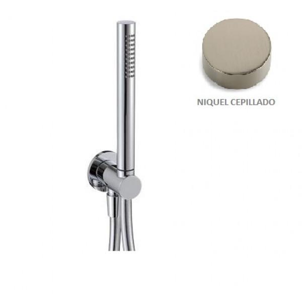 Kit de ducha para baño Niquel cepillado TREEMME