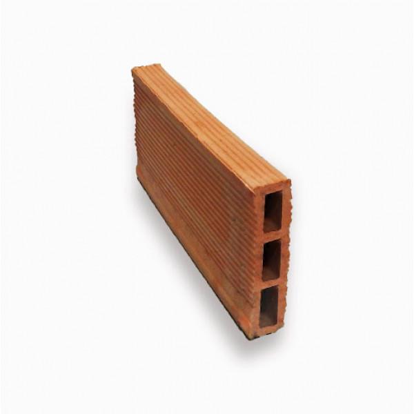 Ladrillo hueco para la construcción 2x12x24cm
